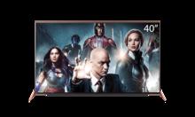暴风TV 超体电视 40X 40英寸 金属机身8G闪存平板智能液晶电视机(玫瑰金)