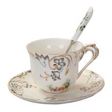友来福 欧式咖啡杯套装红茶创意骨瓷陶瓷英式咖啡杯碟下午茶茶具