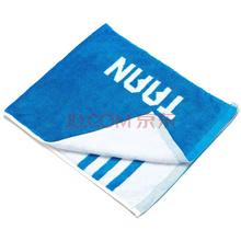 泰昂(TAAN)运动 健身 羽毛球毛巾 34*80cm 竹碳纤维 SK-06 蓝白色 单条装