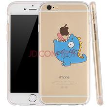 Freeson 小苹果历险记系列卡通手机壳/硅胶软壳/透明保护套 适用于苹果iPhone6/6S 大嘴怪