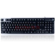 讯拓(SUNT)铁甲蜂刃 黑 苹果风悬浮式机械手感 三色灯光键帽不发光游戏键盘