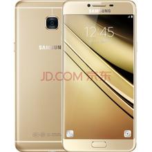 三星 Galaxy C7(SM-C7000)4GB 64GB版 枫叶金 移动联通电信4G手机 双卡双待