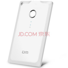 DM WFD009 32G 苹果手机无线U盘 无线存储器 无线分享器 电脑平板iphone安卓智能WIFI卡片式U盘(白色)