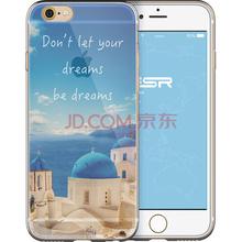插画师(亿色)苹果iPhone6s Plus /6 Plus手机壳/保护套 硅胶透明防摔软壳 风景款行者寄语系列 梦想靠岸