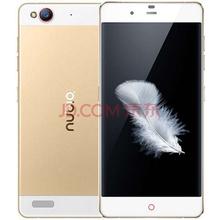 努比亚(nubia)【3 32GB】My 布拉格 前白后金色 移动联通电信4G手机 双卡双待