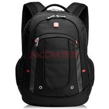 SWISSGEAR SA9360BL 15.6英寸笔记本电脑包 男女款商务潮流防水双肩背包书包 黑色