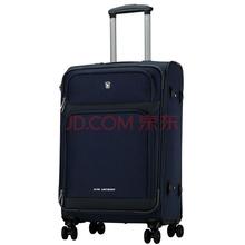 爱华仕(OIWAS)飞机轮拉杆箱6098 休闲登机行李箱 男女出差商务旅行箱 20英寸深蓝色