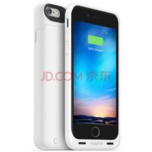 Mophie 聚合物1840毫安 苹果背夹电池 充电宝/移动电源 适用于iPhone6/6S 苹果认证 商务款 白色
