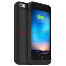 Mophie 聚合物1840毫安 苹果背夹电池 充电宝/移动电源 适用于iPhone6/6S 苹果认证 商务黑