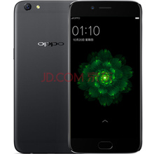 OPPO R9s 全网通4G 64G 双卡双待手机 黑色