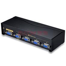 胜为(shengwei)VS-5004 vga分配器 4口 配线 一分四分屏器高清视频 电视电脑1拖4分频器 500MHZ