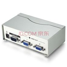胜为(shengwei)VS-2502 VGA分配器 2口 配原装线vga一分二分屏器高清视频 一进二出 电脑电视 分频器