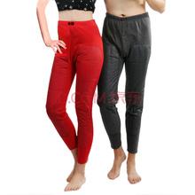 南极人 Nanjiren NB53010 保暖内衣男女磁活力保暖裤加绒加厚加贴片裤子红色XL