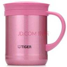 虎牌(Tiger)办公保温茶杯CWM-A035-PH亮炫粉 350ml带滤网