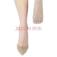 皮尔卡丹船袜丝袜12双浅口防滑法式提花防勾丝隐形薄款女浅肤色均码PC32006-7-304x12