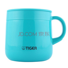 虎牌Tiger保温杯 不锈钢水杯办公茶杯 女士保温水杯咖啡杯送女朋友礼物MCI-A28C-A湖绿色280ml