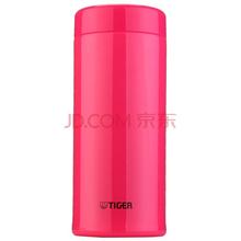 Tiger虎牌保温杯 保温茶杯不锈钢水杯 办公泡茶杯子(带茶格) MCA-T48C-PI果粉色480ml