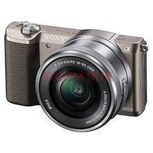 索尼(SONY)ILCE-5100L APS-C微单单镜套机 棕色(2430万有效像素 16-50mm镜头 F3.5-5.6 a5100L/α5100)