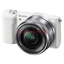 索尼(SONY)ILCE-5100L APS-C微单单镜套机 白色(2430万有效像素 16-50mm镜头 F3.5-5.6 a5100L/α5100)