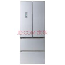 西门子(SIEMENS) BCD-454W(KM40FA60TI) 454升 变频混冷无霜 多门冰箱 零度保鲜 旋转制冰盒(银色)