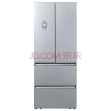 西门子(SIEMENS) BCD-442W(KM45EV60TI) 442升 变频混冷无霜 多门冰箱 LCD液晶显示屏(银色)