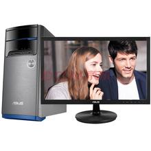 华硕(ASUS)飞影M32CD 台式电脑 (I5-6400 4GB 1T 2G独显 GT720 DVD 键鼠)21.5英寸