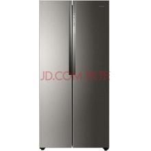 海尔(Haier)BCD-450WDSD 450升 风冷无霜对开门冰箱 304不锈钢 纤薄设计 (幻影骑士)