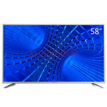 创维(Skyworth)58V6 58英寸 18核金属边框4K超高清智能电视(银色)