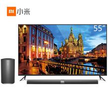 小米(MI)L55M4-AA 小米电视3 55英寸智能4K分体电视 含主机+低音炮+蓝牙手柄+语音体感遥控器+游戏卡