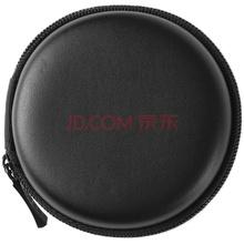 漫步者(EDIFIER)时尚运动便携小耳机包 直径80mm*高35mm 黑色