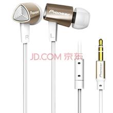 先锋(Pioneer)SE-CL31-N入耳式立体声HIFI音乐手机耳机 金