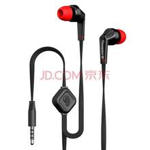 兰士顿(Langsdom)JD88 面条重低音入耳式手机耳机 通用型 黑色