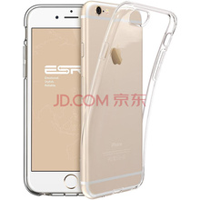 亿色(ESR) iPhone 6/6s手机壳 苹果6/6S手机壳/手机套 硅胶透明防摔软壳 本色系列 啫喱白