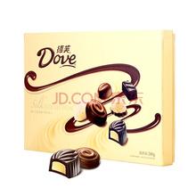 德芙Dove精心之选多种口味巧克力礼盒礼品 糖果巧克力 圣诞新年情人节 280g(新年装随机发售)
