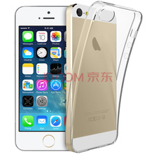 KOOLIFE 苹果iphone5s/SE/5手机壳保护套 TPU防摔透明软保护壳