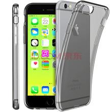 洛克ROCK iPhone6/6s手机壳 TPU纤薄硅胶软套 苹果6/6s保护壳/手机套 透黑