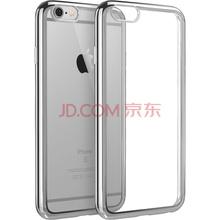 亿色(ESR)iPhone6/6s手机壳/保护套 4.7英寸苹果6/6S手机套 硅胶透明防摔软壳 初色晶耀系列 流星银