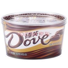 德芙Dove丝滑牛奶巧克力 糖果巧克力 252g 碗装(新年装随机发售)