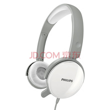 飞利浦(PHILIPS)耳机 耳麦 电脑 游戏 头戴式 SHM7110(灰)