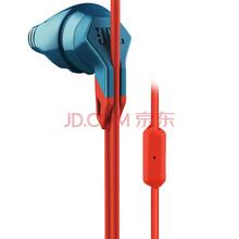 JBL Grip 200  防脱落入耳式运动耳机 手机线控通话耳机/耳麦 酷跑蓝