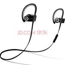 Beats Powerbeats2 by Dr. Dre Wireless 耳机 - 运动黑 双动力无线版 运动耳机 蓝牙无线 带麦 MKPP2PA/A