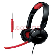 飞利浦(PHILIPS)SHG7210/10 SHM7110升级版 多媒体游戏耳机(黑色)