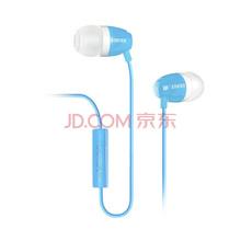 漫步者(EDIFIER)H210P 手机耳机 入耳式耳机 耳塞 可通话 冰蓝