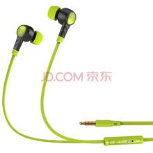 BYZ K61(多维立体重低音)带麦线控 音乐手机耳机 黑绿