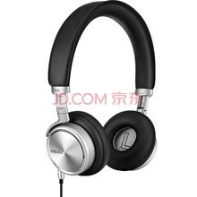 魅族(MEIZU)HD-50 便携头戴式音乐耳机 银黑色 带麦 降噪 佩戴舒适