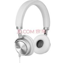 魅族(MEIZU)HD-50 便携头戴式音乐耳机 银白色 带麦 降噪 佩戴舒适