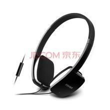 漫步者(EDIFIER)H640P 兼容性强的手机耳机 头戴式耳机 可通话 典雅黑