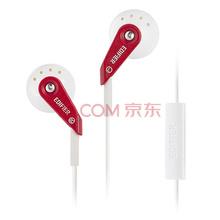 漫步者(EDIFIER)H185P 手机耳机 音乐耳机 耳塞 可通话 法拉利红色