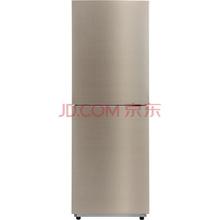 美的(Midea)BCD-236WM(E) 236升 风冷无霜 HIPS环保内胆 节能静音双门冰箱 流光金