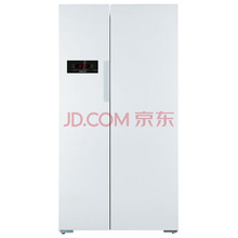 博世(BOSCH) BCD-610W(KAN92V02TI) 610升 变频风冷无霜 对开门冰箱 LED显示 速冷速冻(白色)